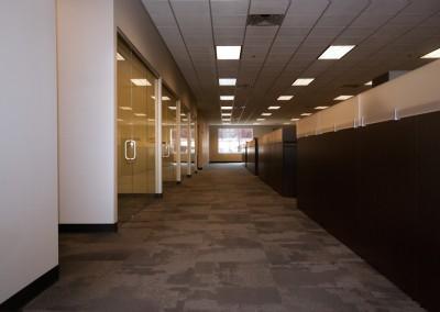 General Contracting Long Row Main Corridor