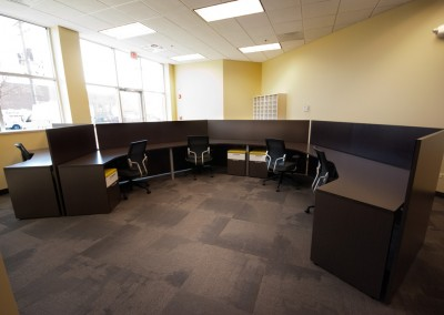 General Contracting Oval Desk